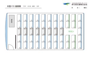 大型バス座席表